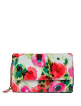 Mundi Watercolor Floral Print Wallet