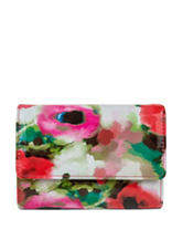 Mundi Amsterdam Watercolor Floral Wallet