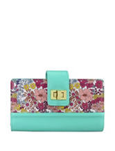 Buxton Ditsy Floral Super Wallet