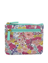 Buxton Ditsy Floral Large ID Coin Case