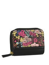 Buxton Ditsy Floral Wizard Wallet