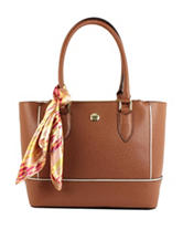 London Fog Rita Shopper Handbag with Scarf