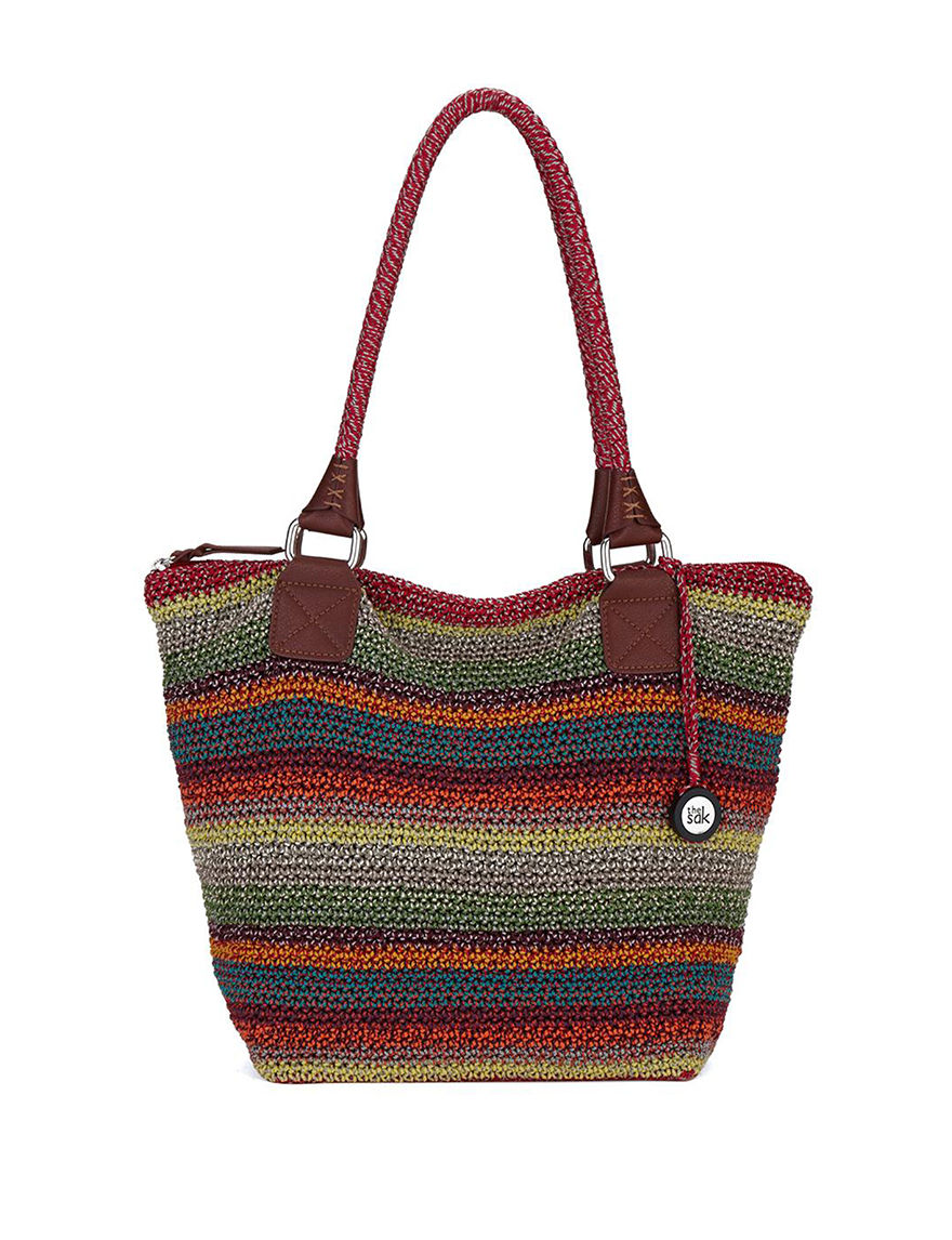 The Sak Cambria Crochet Stripe Tote Bag Stage Stores