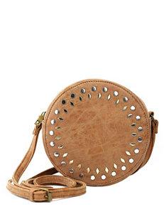 Olivia Miller Multi Studded Canteen Crossbody Bag