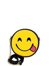 Olivia Miller Happy Tongue Out Emoji Crossbody Bag