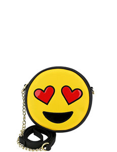 Olivia Miller So In Love Emoji Crossbody Bag
