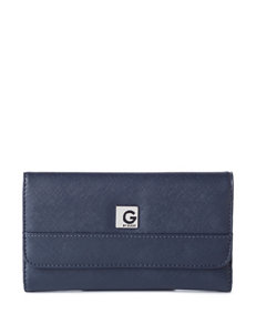G by Guess Stayton Saffiano Flap Wallet