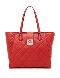 G by Guess Around Town Quilted Carryall Bag