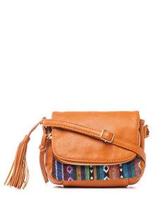 Signature Studio Juanita Tribal Print Crossbody Bag