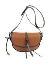 London Fog Newbury Saddle Crossbody Bag