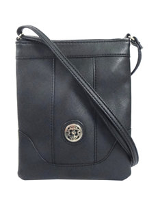 Valerie Stevens Medallion Crossbody Bag