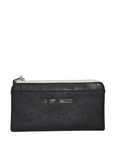 G by Guess Southport Faux Ostrich File Clutch