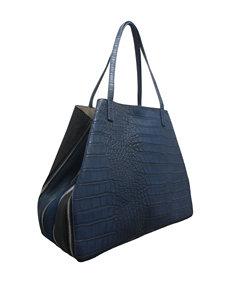 SR2 Faux Croc Tote Bag