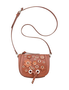 Nine West Evelina Floral Appliqué Crossbody Bag
