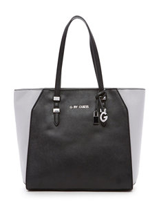 G by Guess Lourdes Carryall Saffiano Color Block Tote Bag