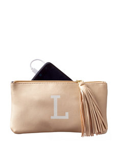 Signature Studio Monogram Zip Pouch & Phone Charger