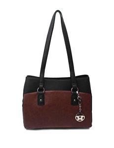 Bueno Shopper Color Block Tote Bag