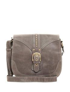 Born Canolo Leather Saddle Crossbody Bag