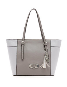 G by Guess City of Dreams Color Block Carryall Tote Bag