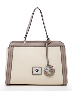 G by Guess Pearson Color Block Pebble Satchel