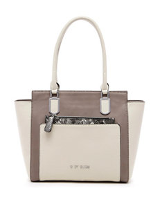 G by Guess Photograph Color Block Satchel
