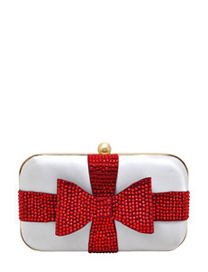 La Regale Rhinestone Bow Clutch