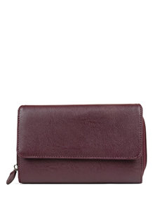 Mundi Big Pebble Faux Leather Wallet