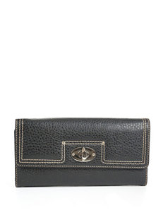 Madison Spencer Pebble Texture Checkbook Clutch