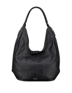 Nine West Faux Croco Beauty Hobo Bag