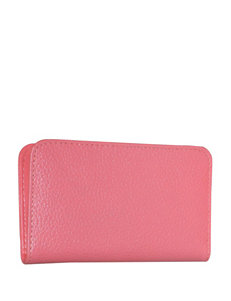 Buxton Hudson Snap Card Case Wallet
