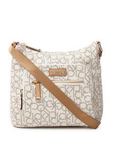 Calvin Klein Hudson Monogram Messenger Bag
