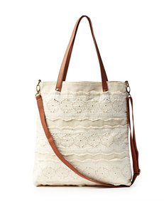 Madden Girl Lace Tote Bag