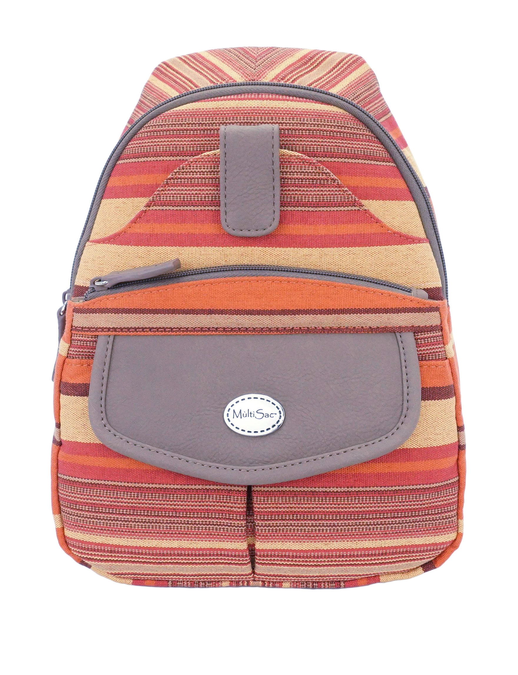 Koltov Stripe Bookbags & Backpacks