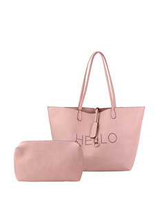 Olivia Miller Hello Tote Bag with Accessory Bag