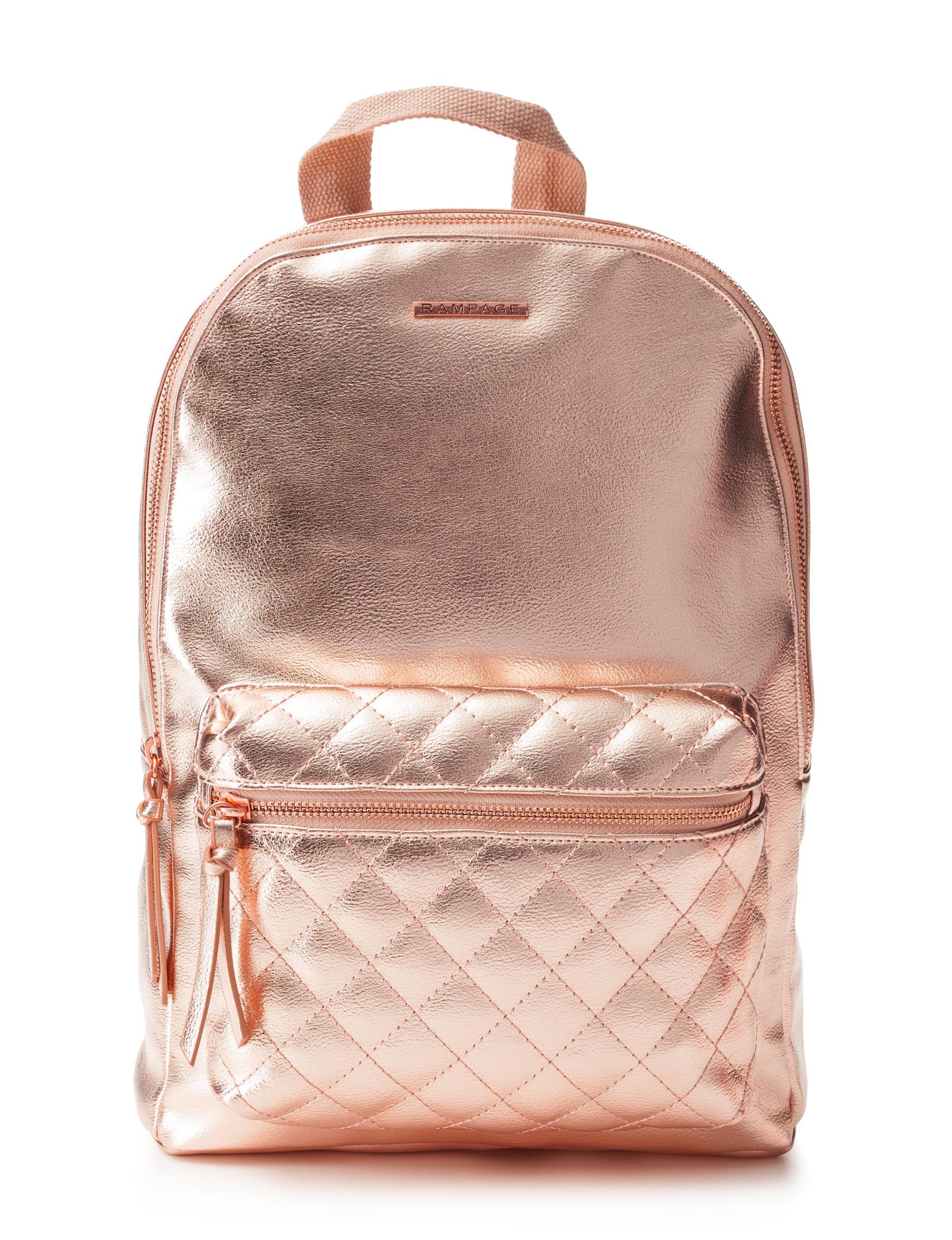 Rampage Gold Bookbags & Backpacks