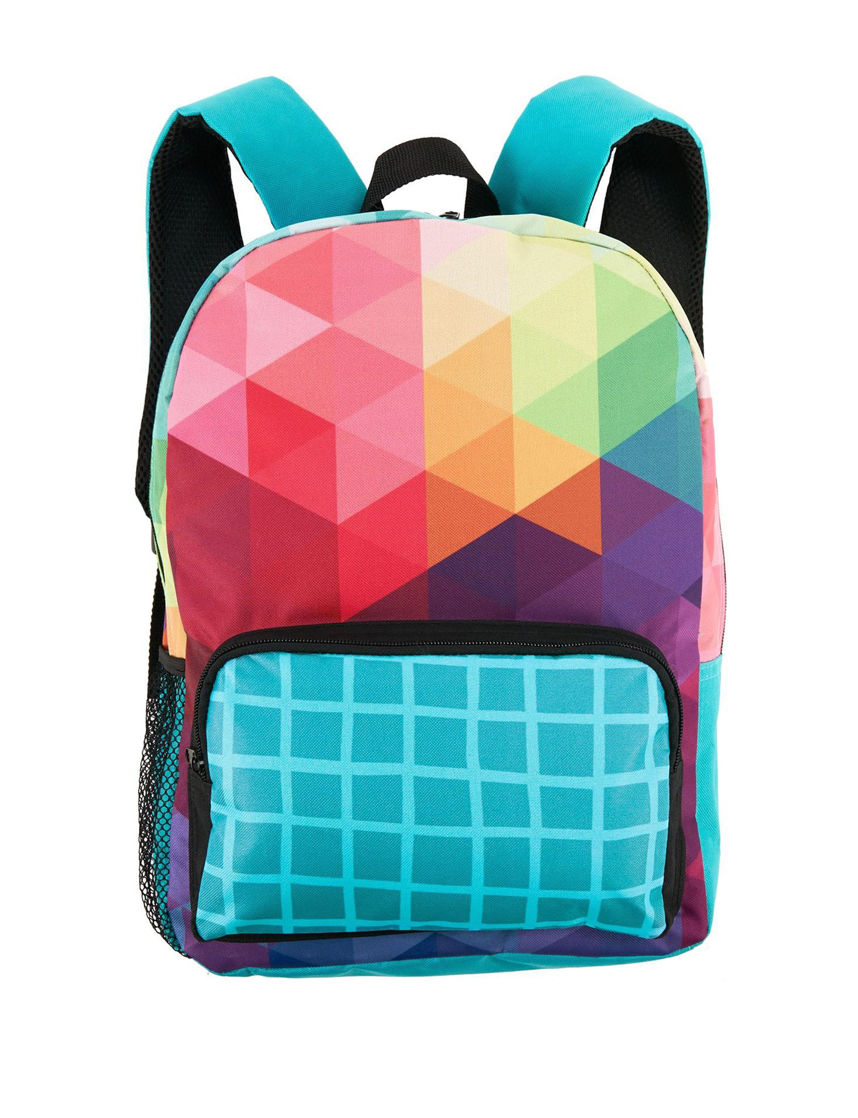 BuySeasons Rainbow Bookbags & Backpacks