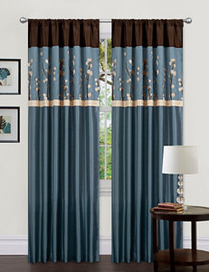 Lush Decor Blue Curtains & Drapes