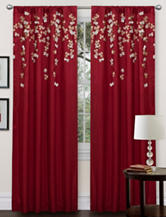 Lush Decor Flower Drops Window Curtain Panel