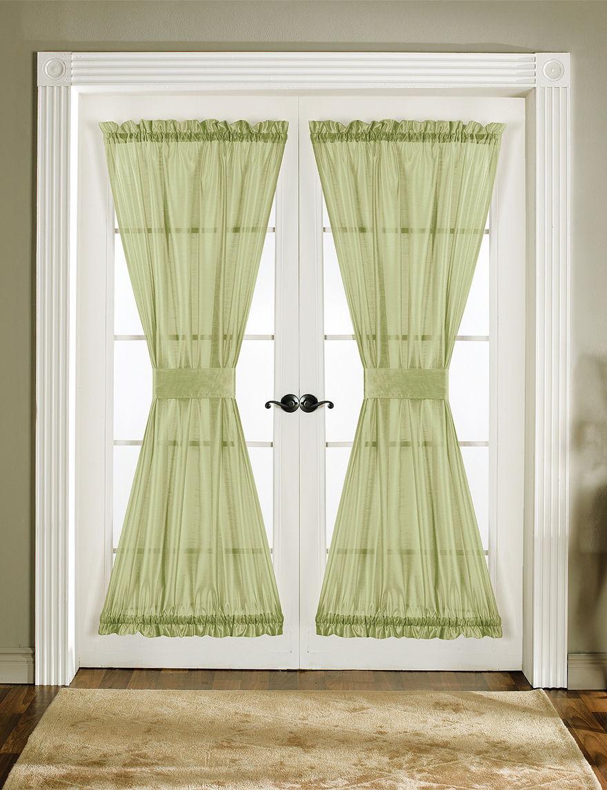 Lush Decor Green Curtains & Drapes Window Treatments