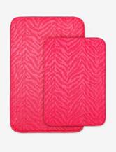 Garland Rug Zebra Print 2-pc. Bath Rug Set