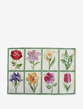 Park B. Smith Floral Tiles 4-pc. Tapestry Placemats