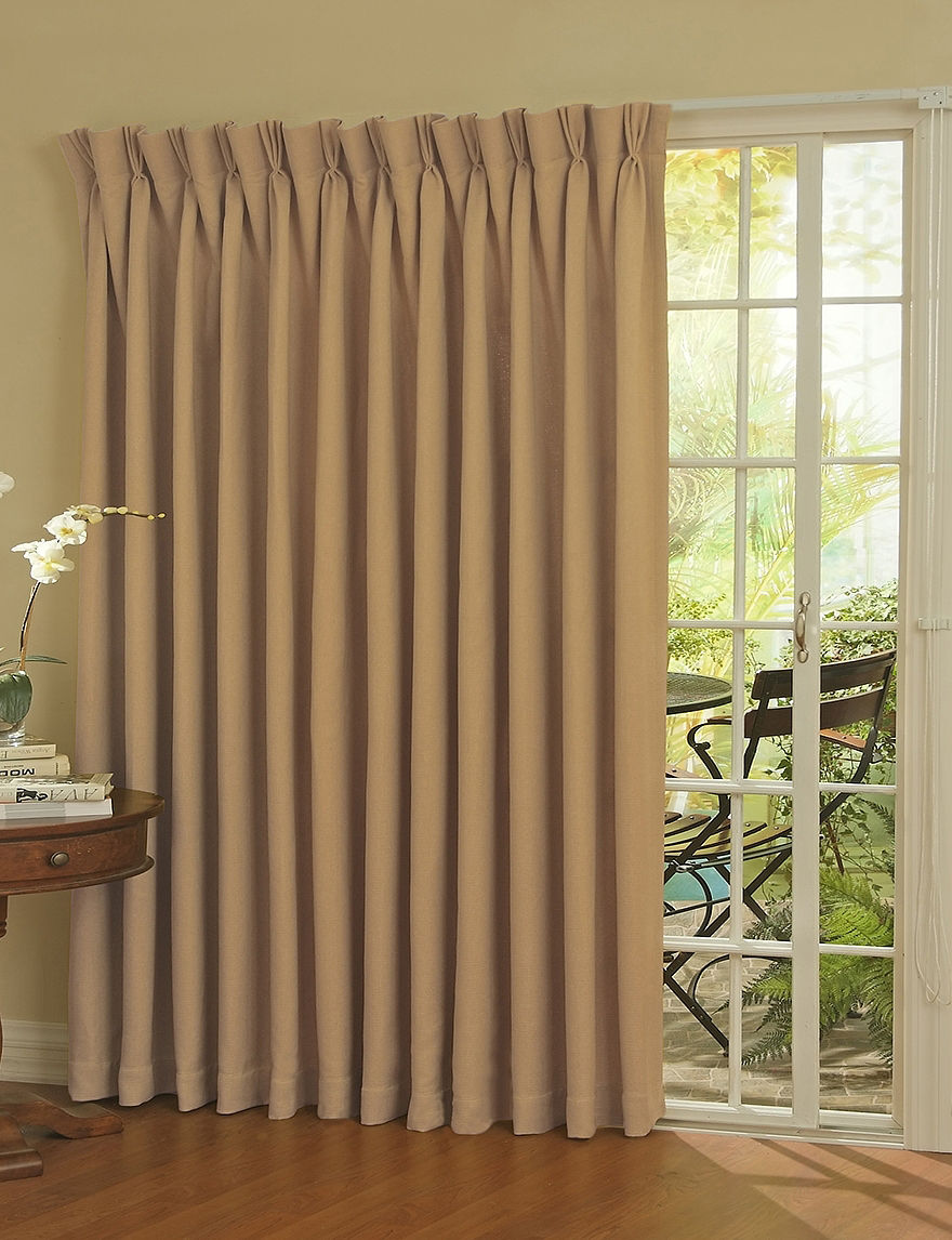 eclipse thermal blackout patio door curtain panel stage