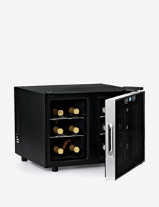 Wine Enthusiast 12-Bottle Dual Zone Touchscreen Wine Refrigerator