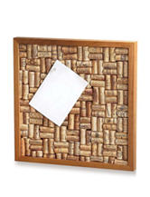 Wine Enthusiast Wine Cork Corkboard Kit