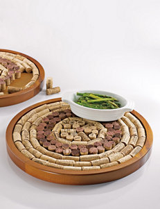 Wine Enthusiast Round Wine Cork Corkboard Kit