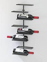 Wine Enthusiast 8-Bottle Urban Wall Wine Rack