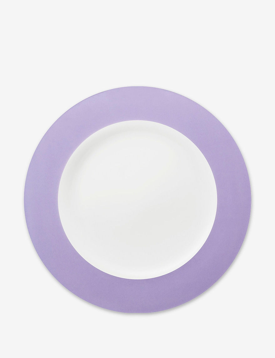 Konitz Purple Plates Dinnerware