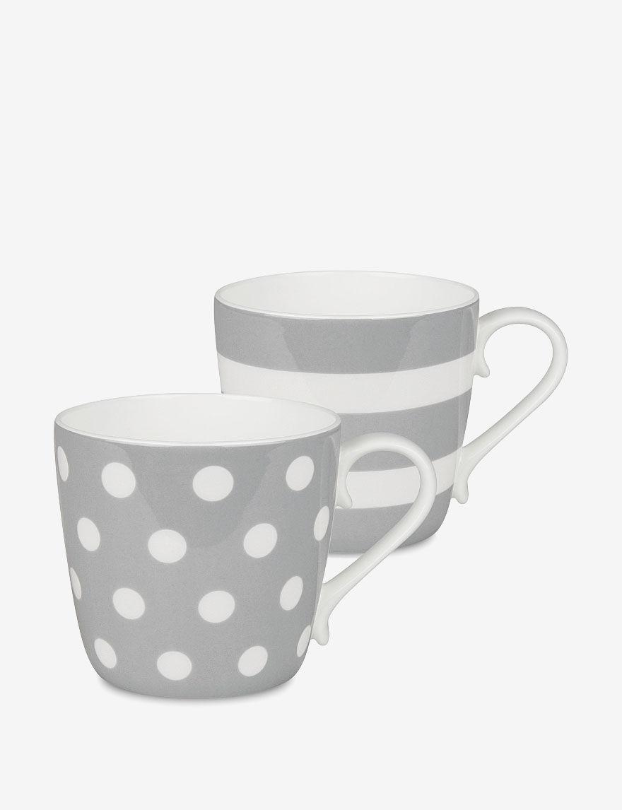 Konitz Grey Mugs Drinkware