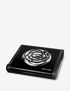 Black & Decker® Single Burner Buffet Range