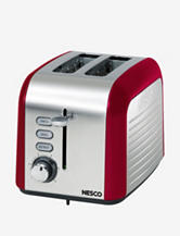 Nesco Everyday Red Two Slice Toaster